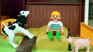 Farma - Nowe zwierzęta - Playmobil - bajka po polsku