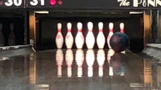 Why you leave a 10 pin in bowling and what to look for. Video