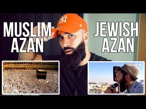 Muslim Azan V Jewish Azan | Difference Between Muslim And Jewish Call To Prayer // REACTION