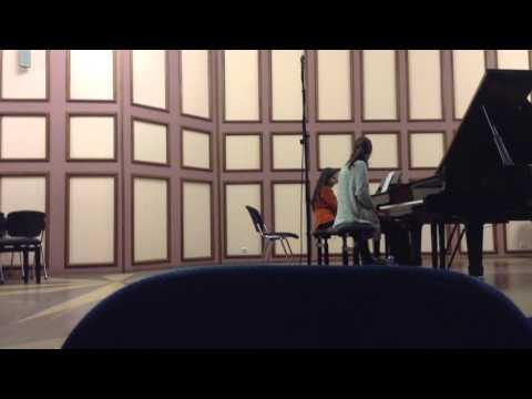 Masterclass at the Moscow Central Music School, Rachmaninov Sonata Nr.2