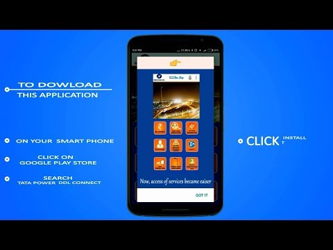 How to Download and Use TATA Power-DDL'S Mobile App 'TATA ...
