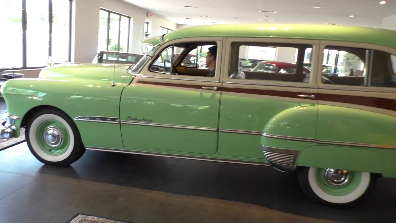 1951 Pontiac Streamliner Wagon At Daniel Schmitt Co Youtube Chevrolet Station