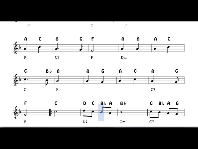 angels we have heard on high notes sheet music for flute violin oboe voice  easy christmas song - youtube  youtube