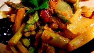 Asparagus Stir Fry Recipe Indian Style | Asparagus Poriyal Recipe