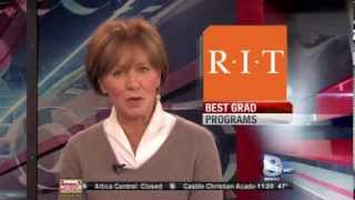 RIT on TV: RIT among top grad schools in the nation - WROC