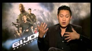 GI Joe Retaliation Jon Chu interview with Raquel Baldwin