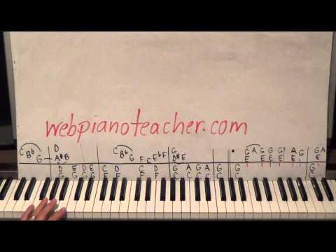 1950s Blues Rock Piano Lesson Tutorial