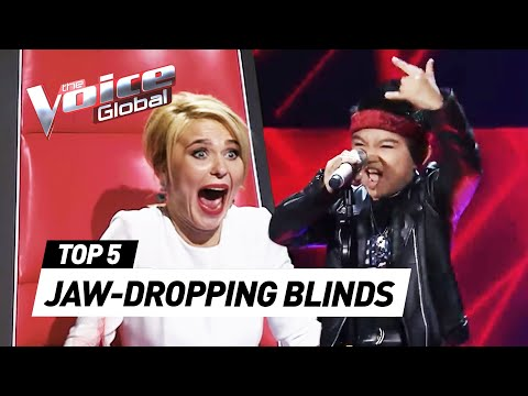JAW-DROPPING Blind Auditions that shocked our coaches on The Voice Kids