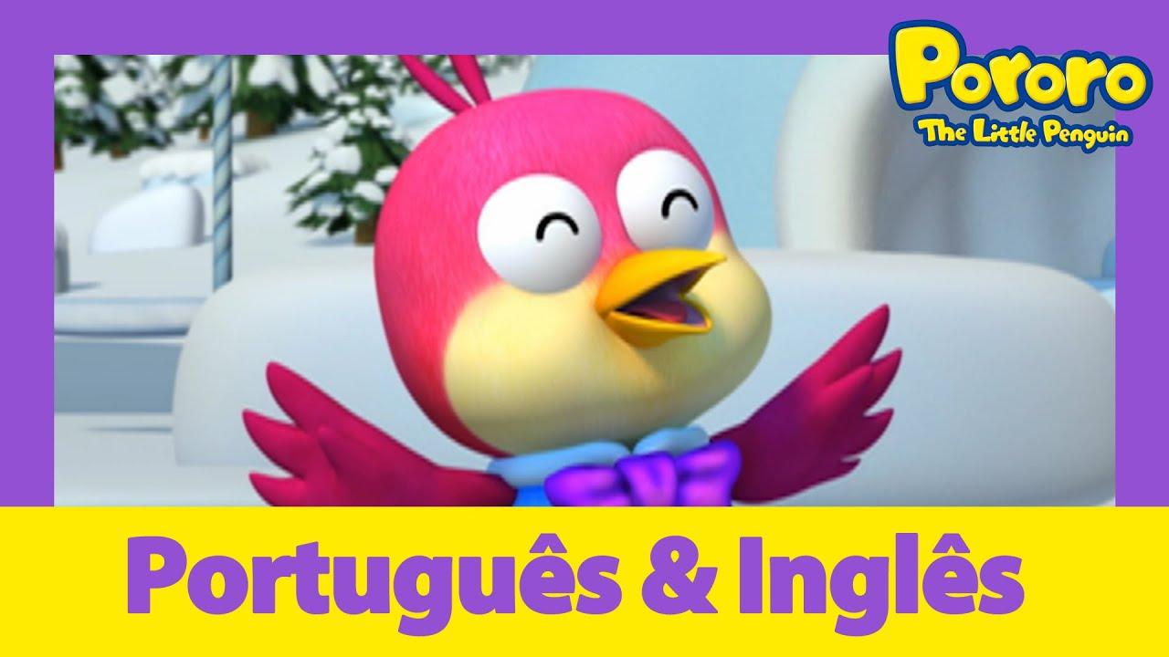 Aprenda inglês com Pororo | Poderoso Harry | Desenhos animados para crianças | Pororo Português