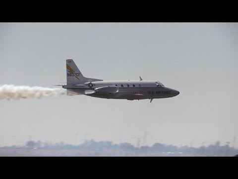 California Capital Airshow 2014 - Fry's Sabreliner