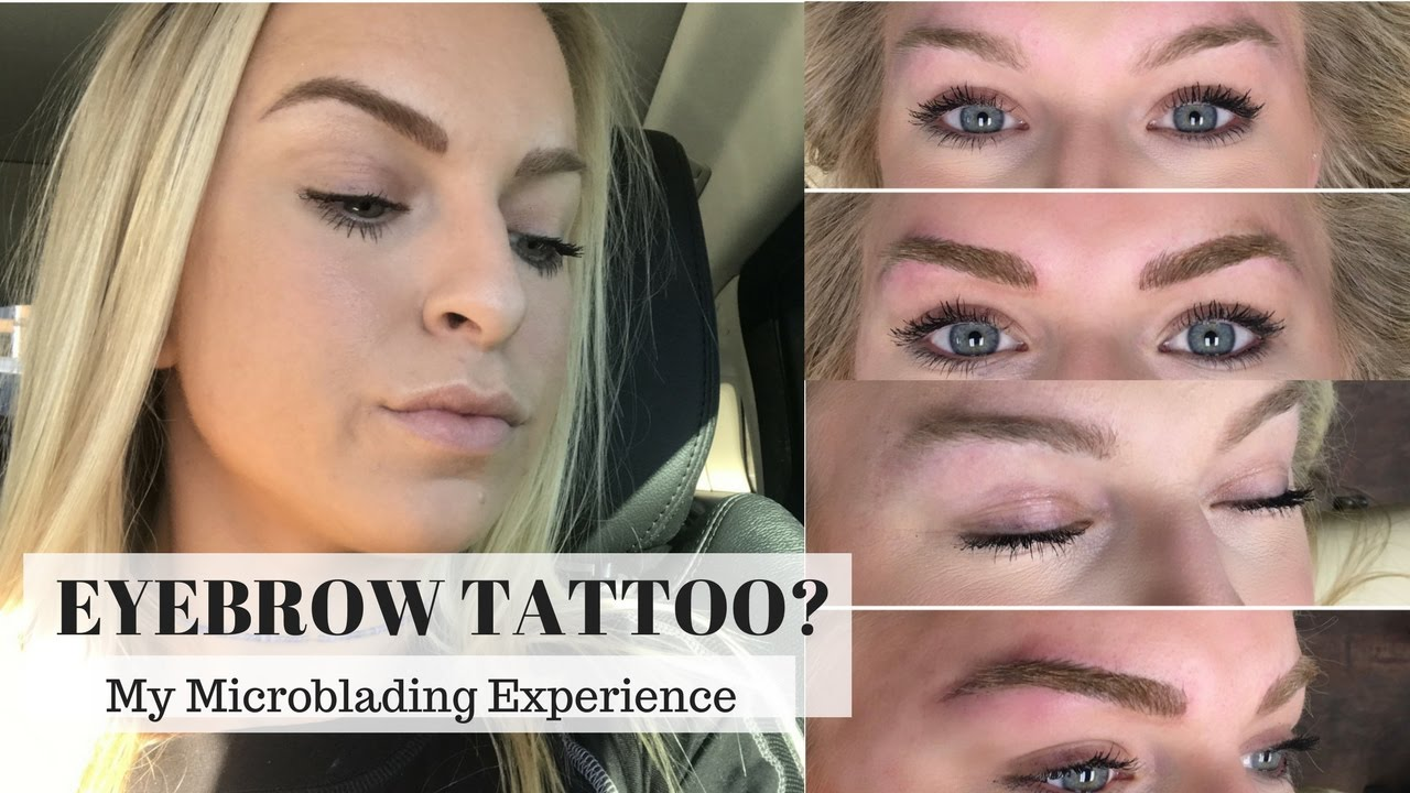 eyebrow microblading blonde hair. eyebrow tattoo: my microblading experience blonde hair f