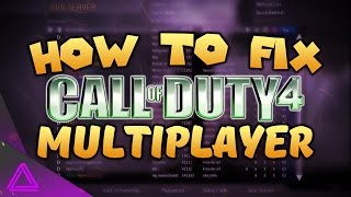 How To Fix Call of Duty 4 Multiplayer 2017 - Punkbuster Error & No Servers