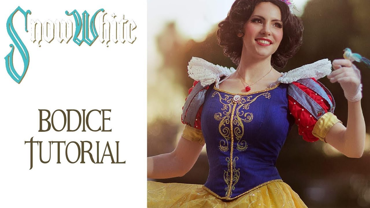 Snow white shirt tutorial aka grown ups can have princess outfits.