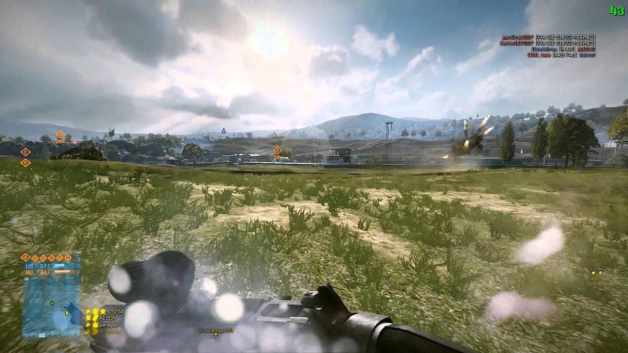 Battlefield 3 on Samsung Series 7 Gamer @ AMD Radeon 7870M 2 - YouTube