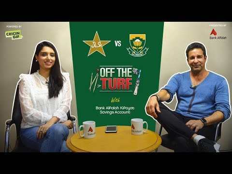 SA vs PAK - Pre Match Analysis: Off The Turf with Bank Alfalah Kifayat Savings Account