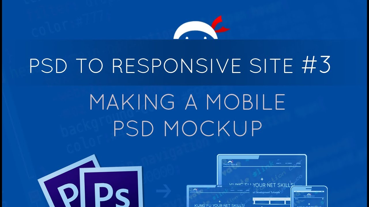 psd to responsive website tutorial #3 - creating a mobile psd, Powerpoint templates