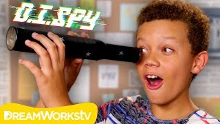 How to Spy on Your Sibling! (DIY Spy Telescope) | D.I.SPY