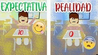 Expectation VS Reality in SCHOOL! (ROBLOX)-iiDayana 💜