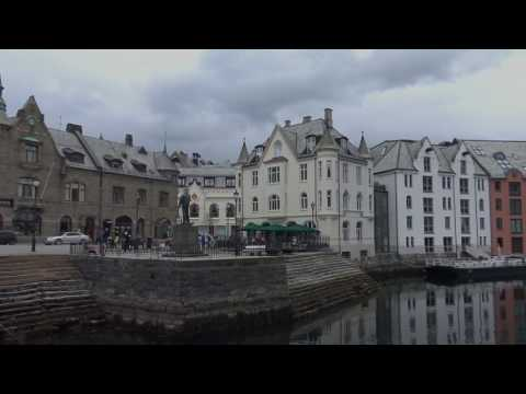 Alesund, Norway in 4K (UHD)