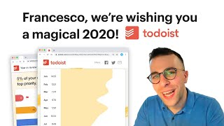 todoist Year in Review 2019