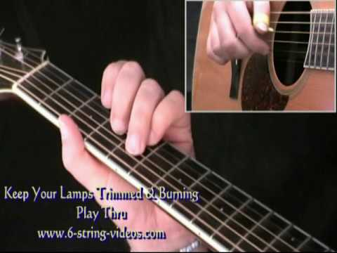 Keep Your Lamps Trimmed & Burning - fingerstyle instrumental