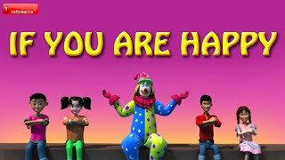 If You're Happy And You Know It - Famous Nursery Rhymes 3D Animated