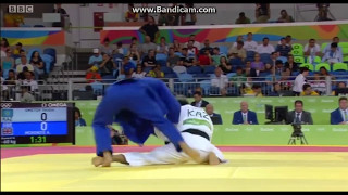 1/16 Дзюдо (Олимпиада в Рио 2016) Smetov Yeldos KAZ - Mackenzie Ashley GBR