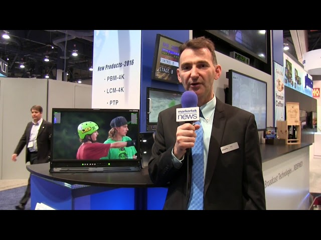 2016 NABShow New York - PBM 224 4K 34inch 2016