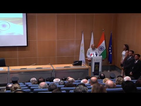 Indian President delivered Speech on India's economic growth and India Cyprus relations at Cyprus u