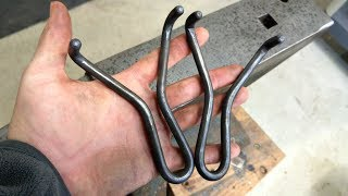 Hot Bending A Custom Prong Style Metal Slingshot
