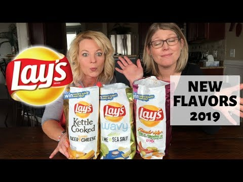 Lay's New Flavors 2019 Beer Cheese - Lime Sea Salt - Flamin' Hot Dill Pickle