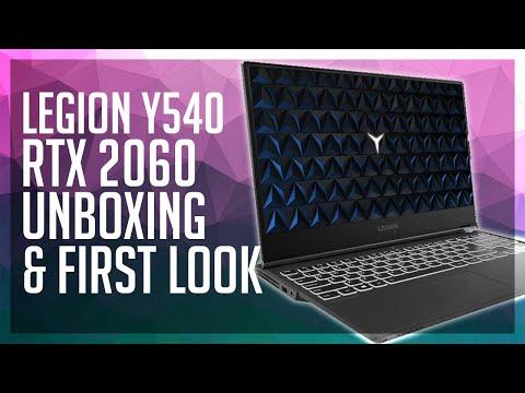 Lenovo Legion Y540 Unboxing - RTX 2060 Laptop | Sound Test & First impressions