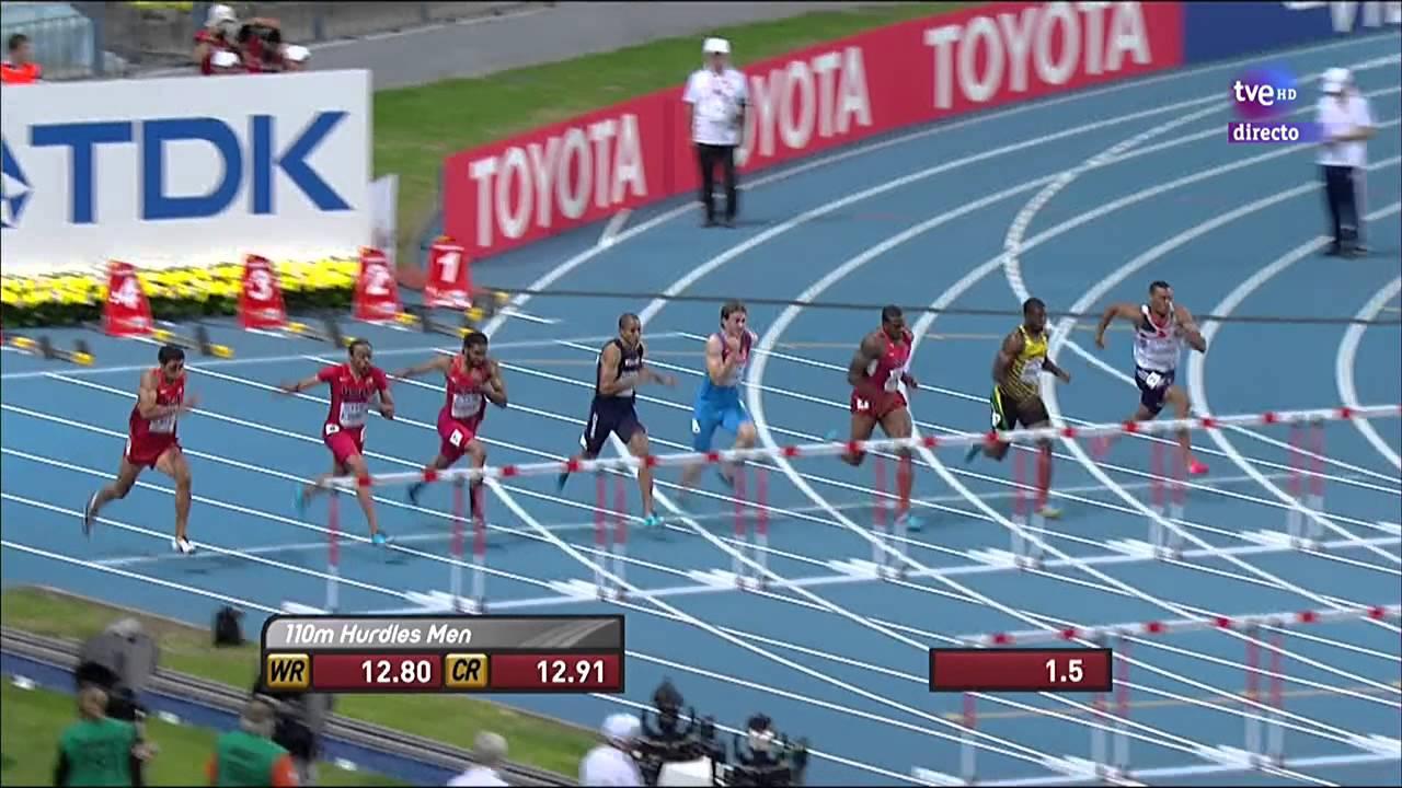 Final 110m vallas masculino atletismo cto del mundo for Imagen de vallas