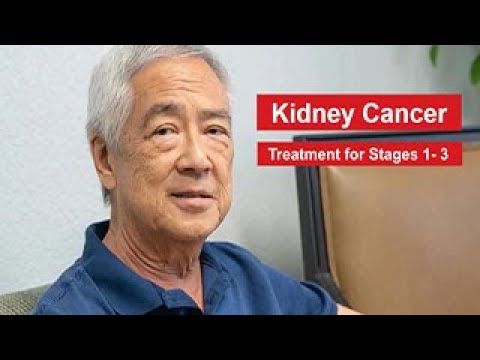 Kidney Cancer: Treatment for Stage 1-3