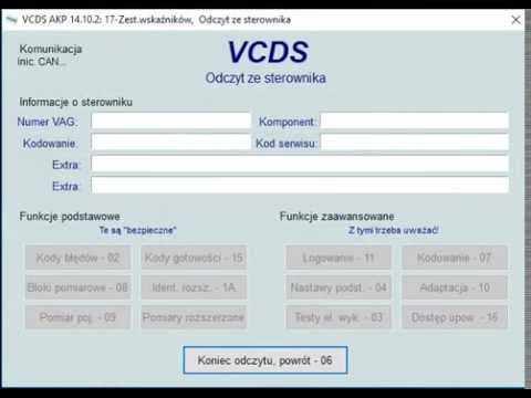 ustawienie przebiegu za pomoc vcds w vw youtube. Black Bedroom Furniture Sets. Home Design Ideas