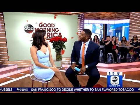 Becca Kufrin Drops By GMA After Bachelorette Premiere