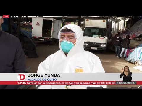 #TelediarioEC | Vicepresidente Sonnenholzner y alcalde Yunda recorren mercados de Quito
