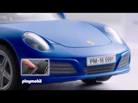 playmobil la porsche 911 targa 4s fran ais youtube. Black Bedroom Furniture Sets. Home Design Ideas