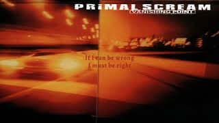 Primal Scream - Motörhead (Remastered) (Lyric Video)