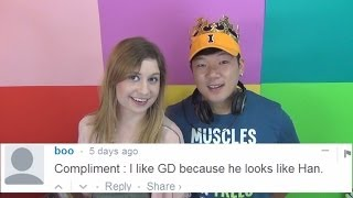Commenting on Comments - Gochu jokes and GD looks like Han
