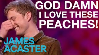James and the Laughing Peaches | James Acaster on Mock the Week