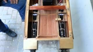 Catamaran waterjet test