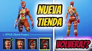 🔴 WAIT THE NEW STORE!! *SKIN QUEMADA PARTY* DIRECT FORTNITE -- LEVEL 56 --1150 WINS --