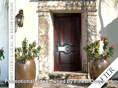 Doors Miami - Wood - Fiberglass - French Patio