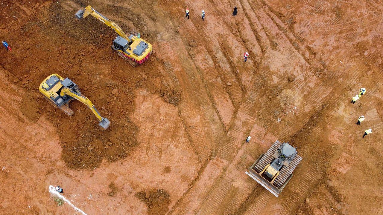Coronavirus: Timelapse shows speedy hospital construction in Wuhan ...