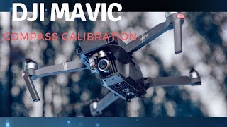 DJI Mavic Pro - IMU Calibration - How to Calibrate the IMU