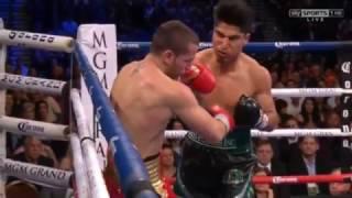 Mikey Garcia vs Dejan Zlaticanin knockout (round 3)