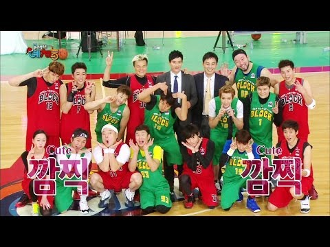 Cool Kiz on the Block | 우리동네 예체능 - Christmas Special Charity Match (2014.01.07)
