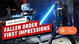 Star Wars Jedi: Fallen Order First Impressions - IGN Access