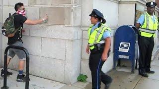 PRANKING COPS!!!!